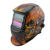 Maska Lubanja Pattern Solarna Auto Zamračivanje PP zavarivanje / Zavarivanje kaciga