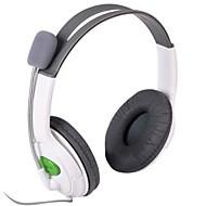 Stylový Stereo Headset sluchátka pro Xbox 360 - bílá (2,5 mm Plug / 100 cm)
