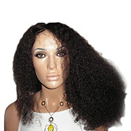 "16"" 100% Remy Human Hair Curly Lace Front Wig"