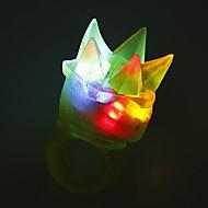 LED Color-changing Flexible Glue Finger Ring