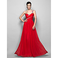TS Couture® Formal Evening / Prom / Military Ball Dress - Ruby Plus Sizes / Petite Sheath/Column Straps Floor-length Chiffon