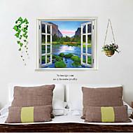 Fake-Fenster-Wand-Plakat, Poster Dekorative Wandsticker