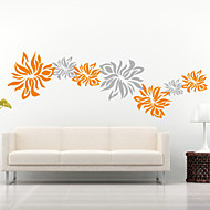 Floral Flowers Decorative Wall Stickers