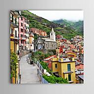 Stretched Canvas Print Art Landscape Hallstatt Part of The Landscape