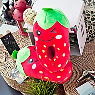 Creative røde jordbær Uld Kvinders Slide Slipper