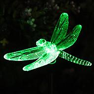 Solar farveskiftende Dragonfly Have Stake Light (CSS-57273)