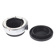 Electronic Lens Adapter/Extension Tube 43-M43 (Silver)