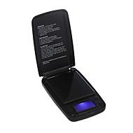 500G / 0,1 G Elektronisk Digital Vekt Smykker Gull Veiing Balance Lcd-Skjerm Med Blå Bakgrunnsbelysning