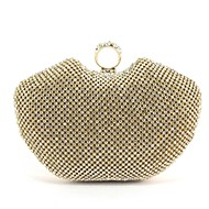 Metal Wedding/Special Occasion Clutches/Evening Handbags with Rhinestone (More Colors)