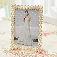 """6""""7""""Modern European Style Pearl Metal Picture Frame"""