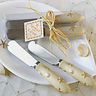 Hvězda Máslo nůž, sada 2, W12.5cm x L4cm x H2.3cm