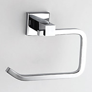 Brass krom finish Toilet Papper Holder, L15.5cm x W12cm x H7cm