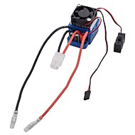 TD-006 320A Two-way Waterproof Brush ESC for 1:10 RC Cars and Aircrafts