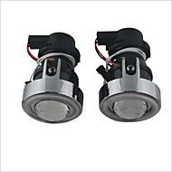 12V 55W Halogen Lamp for Car Fog Light with CCFL Angel Eyes (White Light)