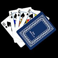 Gepersonaliseerde Gift Blue Vine Patroon van de speelkaart voor Poker