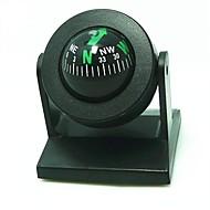 Säätäminen Ball Style Car Compass - Musta