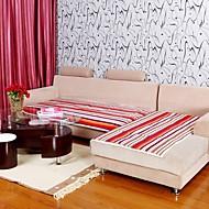 elaine coton pur bande pourpre coussin de canapé 333769