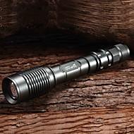 M8106 nastavitelný Focus 5-Mode 1xCree XM-L2 T6 LED svítilna(2x18650,1800LM,Copper)