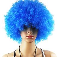 Musta Afro Wig Fanit Bulkness Cosplay Joulu Halloween Peruukki Vaaleansininen Wig 1pc/lot