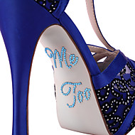 """""""Me Too"""" Kristal Akrilik Ayakkabı Sticker (Daha fazla renk)"""