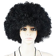 Svart afro peruk Fläktar Bulkness Cosplay Jul Halloween Wig Black Wig 1pc/lot