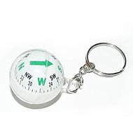 bold stil kompas nøglering-assorteret farve