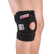Adjustable Silicon 2-spring Knee Guard Protector - Free Size