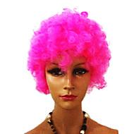 Musta Afro Wig Fanit Bulkness Cosplay Joulu Halloween Peruukki Rose Red Wig 1pc/lot