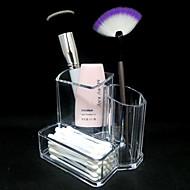 Opbevaringsløsninger til makeup Kosmetik Boks / Opbevaringsløsninger til makeup Akryl Ensfarvet 13.3x9.5x11.2cm