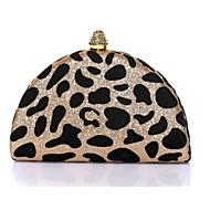 Для женщин Полиуретан Для шоппинга Вечерняя сумочка Золотистый / Серебристый