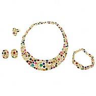 Women's Alloy/Rhinestone Jewelry Set Rhinestone