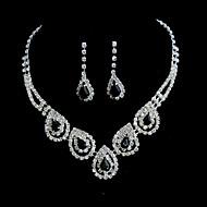 Smykker Set Dame Jubileum / Bryllup / Engasjement / Bursdag / Gave / Spesiell Leilighet Juvel Sett Legering Diamant / RhinestoneØreringer