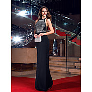 TS Couture® Prom / Formal Evening / Military Ball Dress - Sexy / Open Back / Elegant / Sparkle & Shine Plus Size / Petite Sheath / Column Jewel