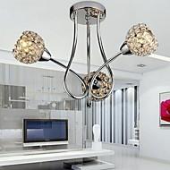 120W Modern Crystal tak lysekrone med 3 Light