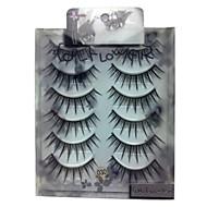 6 pairscoolflower false eyelashes 030#