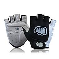 FJQXZ® כפפות ספורט/ פעילות לגברים כפפות רכיבה קיץ כפפות אופניים נגד החלקה / נושם / עמיד בפני שחיקה / מוגן משלג / לביש / מגן בלי אצבעות