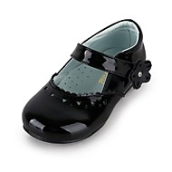 Girl's Spring / Summer / Fall / Winter Comfort / Mary Jane Leatherette Wedding / Dress / Casual / Party & Evening Flat Heel Magic Tape