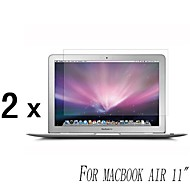 [2-pack] Hög kvalitet Invisible Shield Smudge Proof Skärmskydd till MacBook Air 11-tums