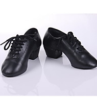 Men & Children's Leatherette Dance Shoes For Latin/Ballroom
