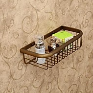 Bathroom Shelf Antique Brass Wall Mounted 30*13.5*8cm(11.8*7*3inch) Brass Antique
