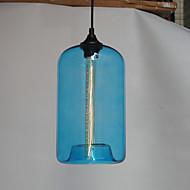 Botella Diseño colgante, 1 luz, Pintura Minimalista Hierro