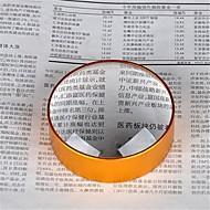 golden 5x 75mm metall hånd nærbilde forstørrelsesglass for å trykke på papir og dokumenter