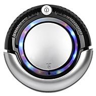 Robotic Vacuum Cleaner - LED Light, Multiple Modes, Cliff Avoidance Sensor (Black)