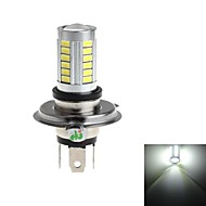 H4 8W 33x5730 SMD 800lm 6000-6500k White Light LED  Bulb for Car Fog Light (DC 12-24V)