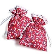 Floral Theme Great Design Favor Bags (Set of 12)