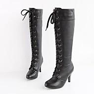 レディースシューズ - ドレスシューズ - 合皮 - スティレットヒール - ファッションブーツ - ブーツ - ブラック / イエロー / ホワイト