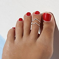 Украшения для тела/Кольца для пальцев ног Сплав Others Уникальный дизайн Мода Золотой 1шт