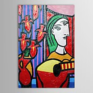 Hand Painted Oil Painting Museum Masters Paintings  Pablo Picasso Two Faces Painting  Reproduction with Stretched Frame