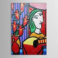 Dipinto a mano pittura a olio Museo di Pittura Maestri Pablo Picasso due fronti Riproduzione Dipinto con telaio allungato