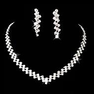 Sieraden set Dames Jublieum / Bruiloft / Verloving / Verjaardag / Geschenk / Feest / Speciale gelegenheden Sieraden Sets Licht Metaal